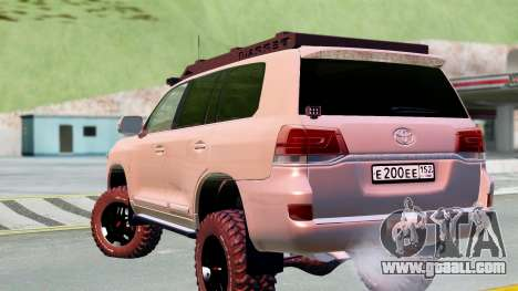 Toyota Land Cruiser 200 2016 for GTA San Andreas left view