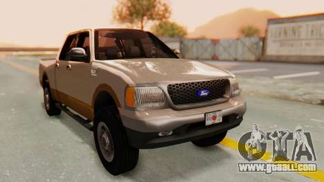 Ford F-150 2001 for GTA San Andreas