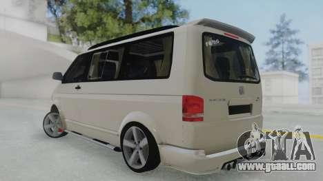 Volkswagen Transporter TDI for GTA San Andreas left view