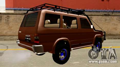 Toyota Kijang Grand Extra Off-Road for GTA San Andreas back left view