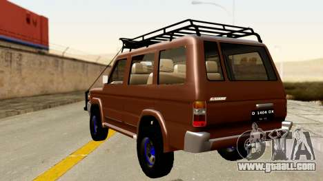 Toyota Kijang Grand Extra Off-Road for GTA San Andreas left view