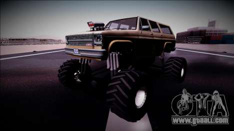 Rancher XL Monster Truck for GTA San Andreas