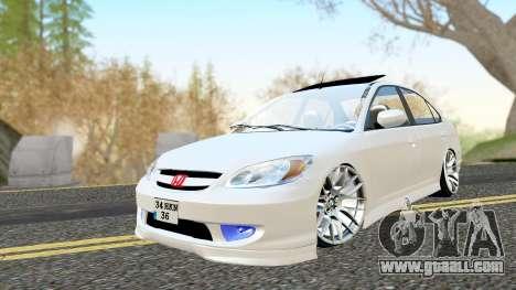 Honda Civic Vtec 2 for GTA San Andreas