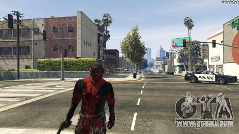 The Deadpool Mod for GTA 5