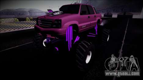 GTA 4 Cavalcade FXT Monster Truck for GTA San Andreas