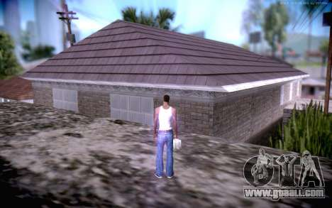 New CJ Home for GTA San Andreas third screenshot