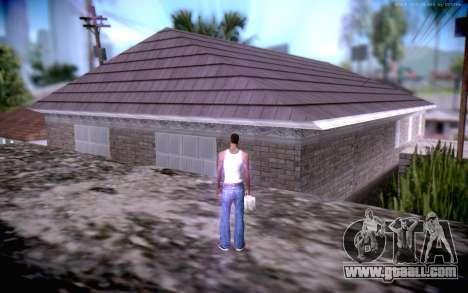 New CJ Home for GTA San Andreas third screenshot
