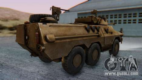 Ratel 90 for GTA San Andreas left view