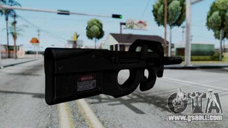 P90 for GTA San Andreas second screenshot
