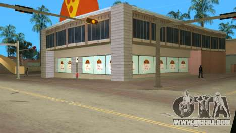 Iraninan Pizza Shop for GTA Vice City