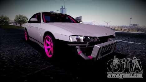 Nissan Silvia S14 Drift Monster Energy for GTA San Andreas
