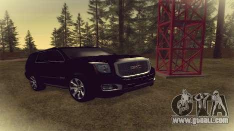 GMC Yukon 2015 for GTA San Andreas