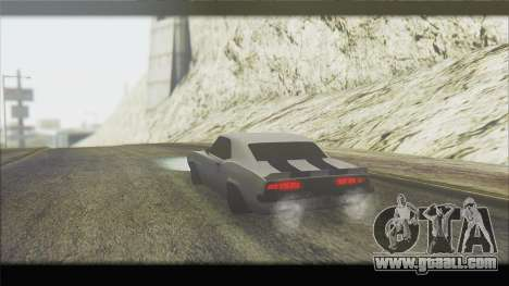 Chevrolet Camaro Z28 1969 Special Edition for GTA San Andreas right view