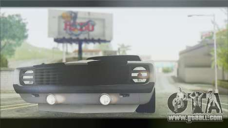 Chevrolet Camaro Z28 1969 Special Edition for GTA San Andreas left view