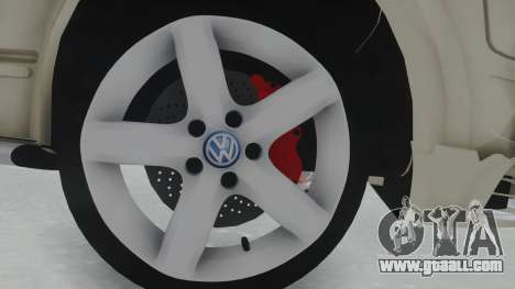 Volkswagen Transporter TDI for GTA San Andreas back view