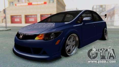 Honda Mugen FD6 for GTA San Andreas right view