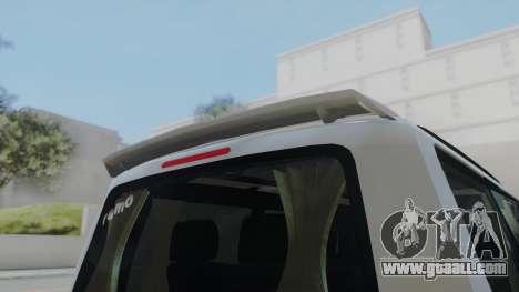 Volkswagen Transporter TDI for GTA San Andreas back left view