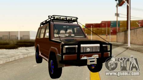 Toyota Kijang Grand Extra Off-Road for GTA San Andreas right view