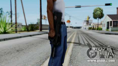 P90 for GTA San Andreas third screenshot