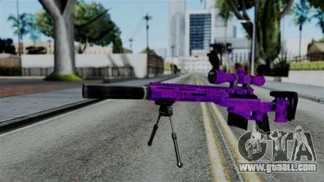 Purple Sniper for GTA San Andreas