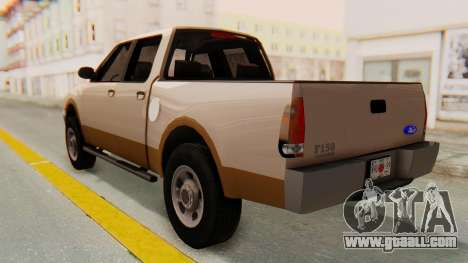 Ford F-150 2001 for GTA San Andreas back left view