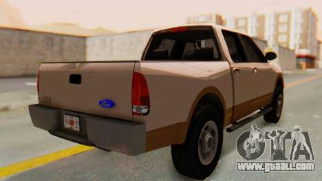Ford F-150 2001 for GTA San Andreas left view