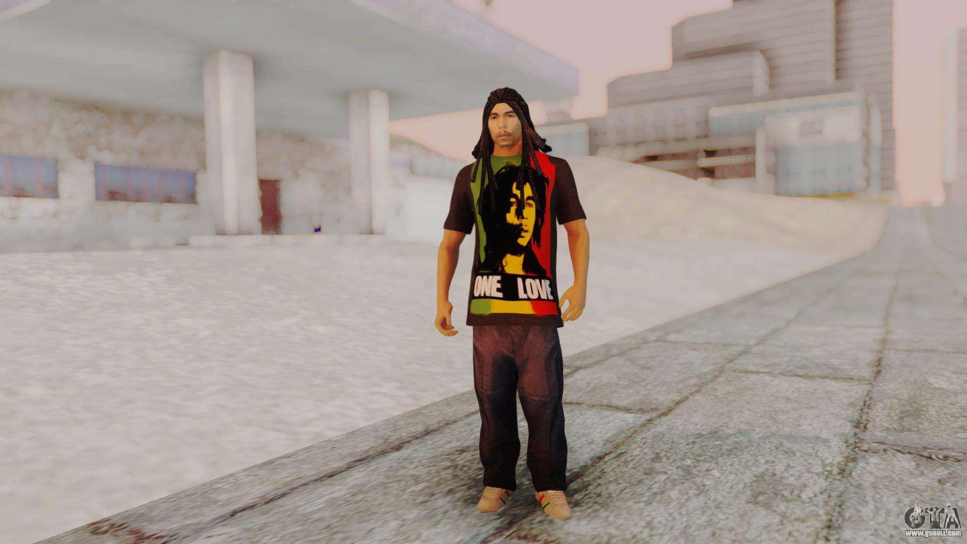 Bob Marley for GTA San Andreas second screenshot