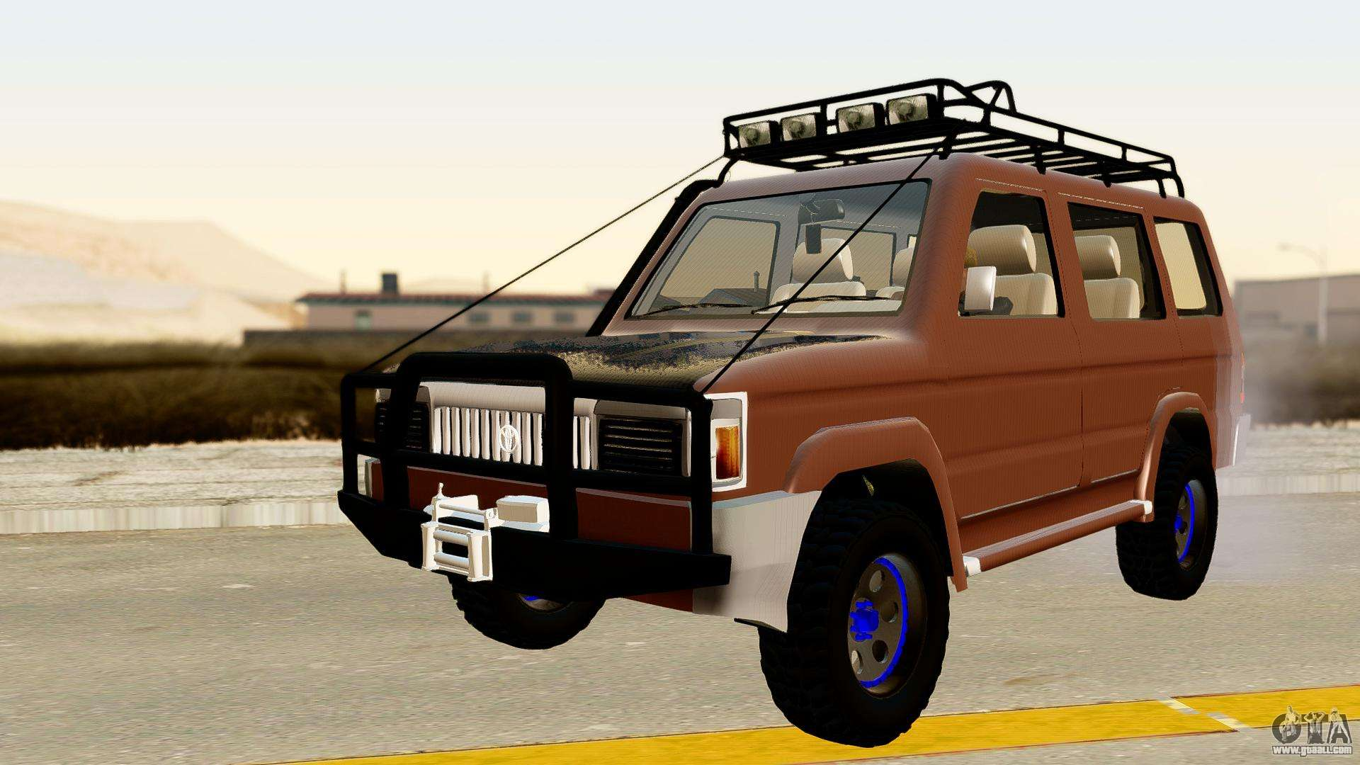Toyota Kijang Grand Nicoy Itasha For Gta San Andreas