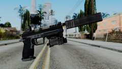 CoD Black Ops 2 - B23R Silenced for GTA San Andreas