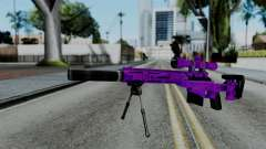 Purple Sniper for GTA San Andreas