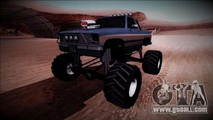 Rancher Monster Truck for GTA San Andreas
