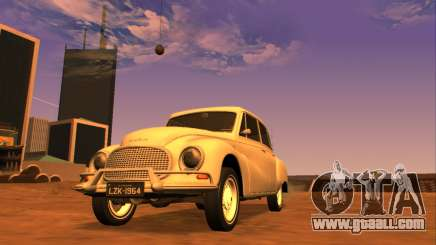 DKW-Vemag Belcar 1001 1964 for GTA San Andreas