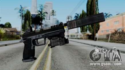 CoD Black Ops 2 - B23R Silenced for GTA San Andreas