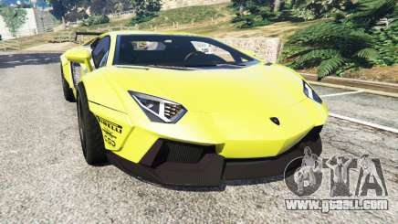 Lamborghini Aventador LP700-4 [LibertyWalk] v1.0 for GTA 5