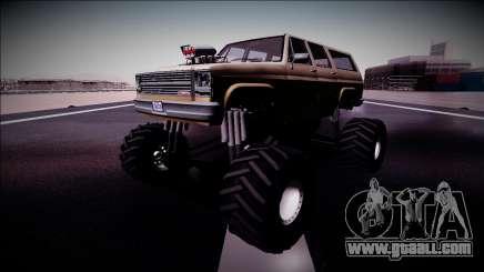 Rancher XL Monster Truck for GTA San Andreas