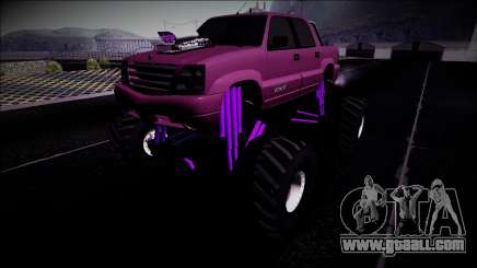 GTA 4 Cavalcade FXT Monster Truck for GTA San Andreas