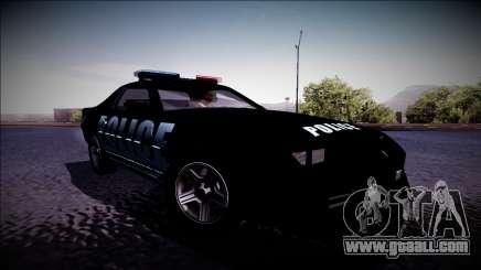 Chevrolet Camaro 1990 IROC-Z Police Interceptor for GTA San Andreas