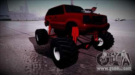 GTA 4 Cavalcade Monster Truck for GTA San Andreas