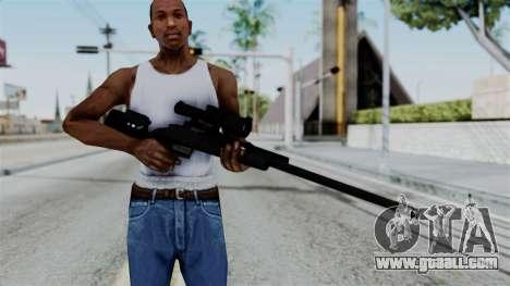 TAC-300 Sniper Rifle v2 for GTA San Andreas third screenshot