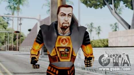 Gordon Freeman HEV SUIT from Half Life for GTA San Andreas