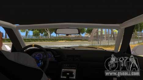 Nissan Skyline R32 Drag for GTA San Andreas inner view