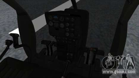 MH-9 Hummingbird Recon for GTA San Andreas right view