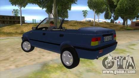Dacia SuperNova for GTA San Andreas back left view