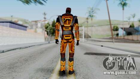 Gordon Freeman HEV SUIT from Half Life for GTA San Andreas third screenshot