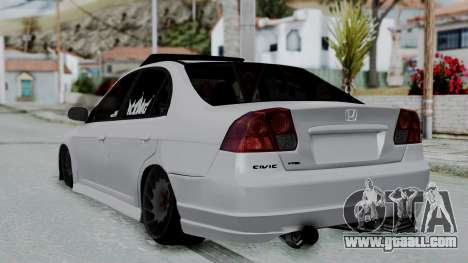 Honda Civic Vtec Special for GTA San Andreas left view
