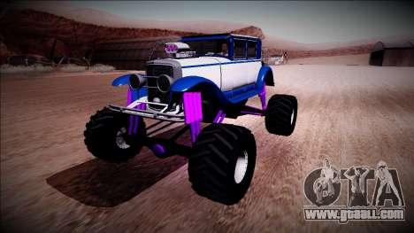 GTA 5 Albany Roosevelt Monster Truck for GTA San Andreas