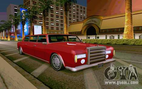 Stafford Limousine v2.0 for GTA San Andreas