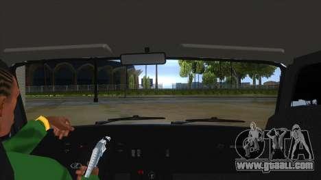VAZ 2107 v1 for GTA San Andreas inner view
