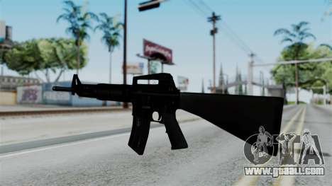 No More Room in Hell - M16A4 Carryhandle for GTA San Andreas second screenshot