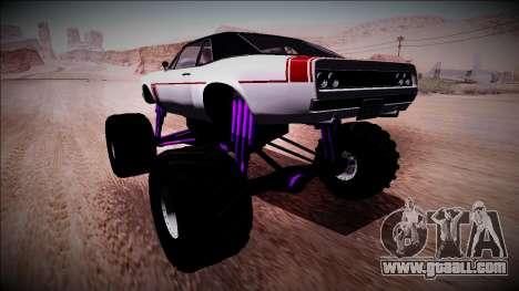 GTA 5 Declasse Tampa Monster Truck for GTA San Andreas left view